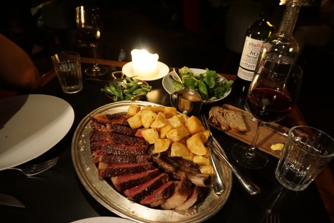 Merchants Tavern steak London