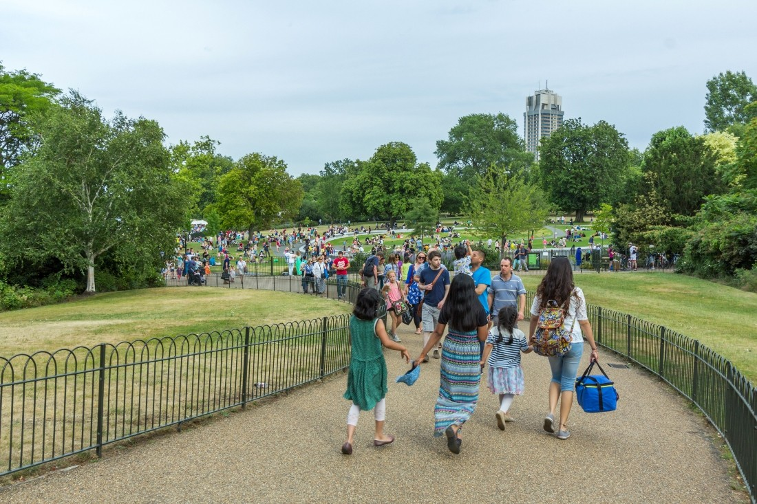 Hyde Park is a must for weekend plans in London.