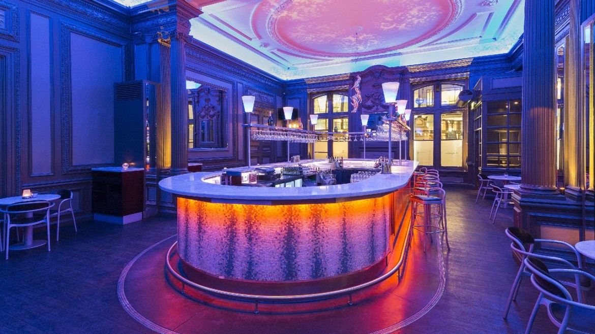 Champagne bar Andaz Hotel London