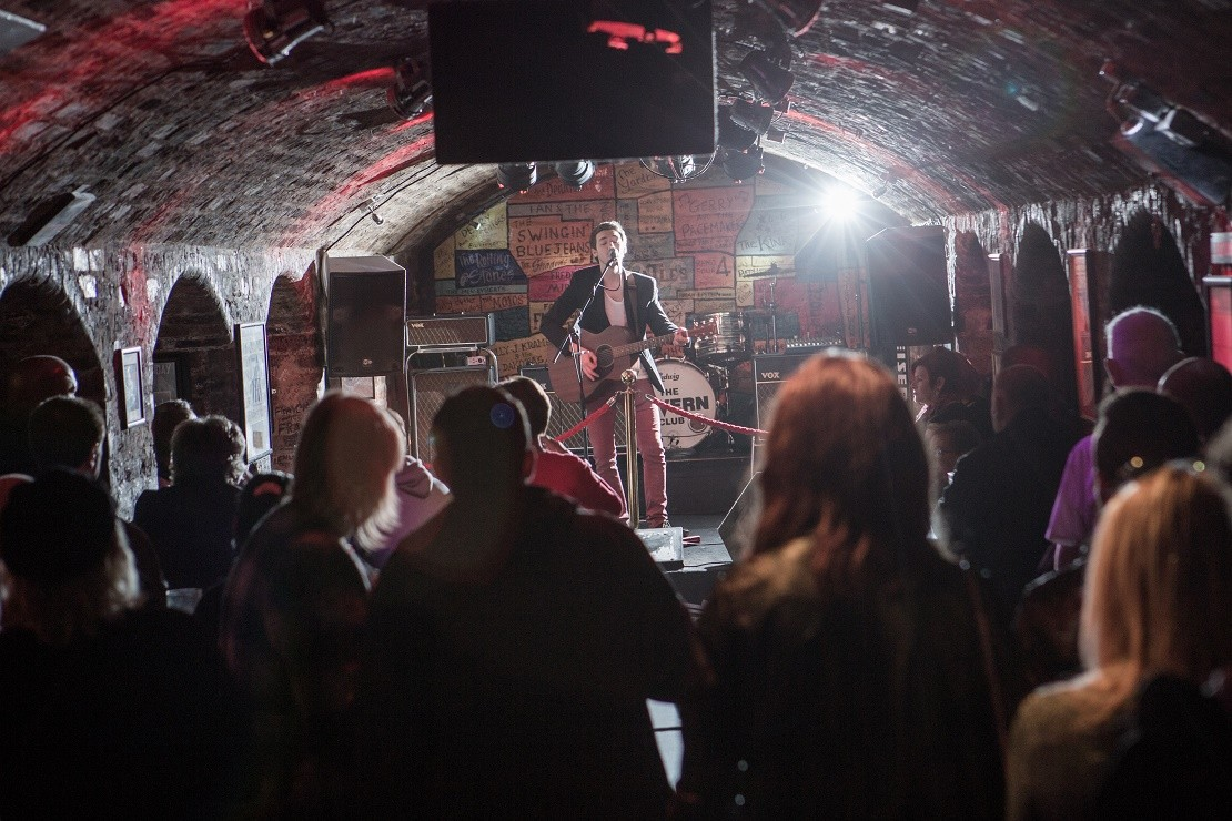 A night out at the Cavern Club in Liverpool