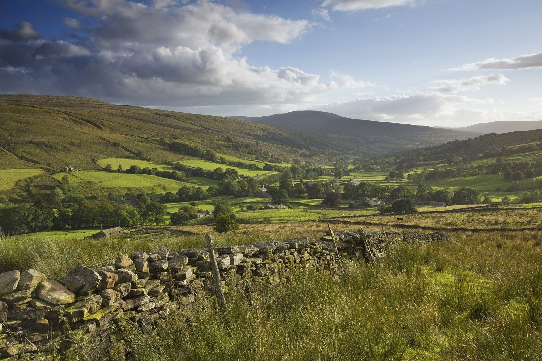 Dentdale in the Yorkshire Dales National Park. Image credited to Lee Beel