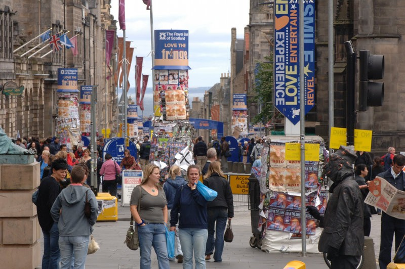 Getting around Edinburgh during the Festival