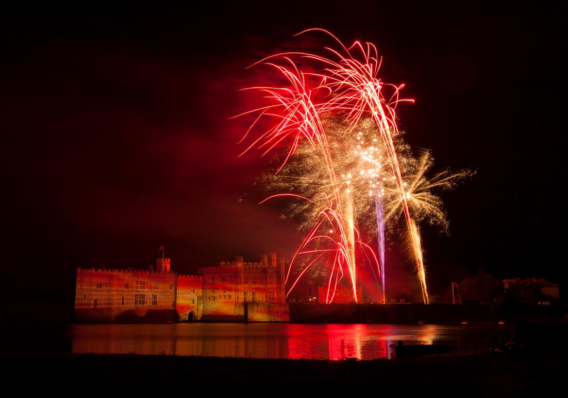 La Guy Fawkes Night à Leeds Castle - © Leeds Castle Foundation & Sarah Medway Photography