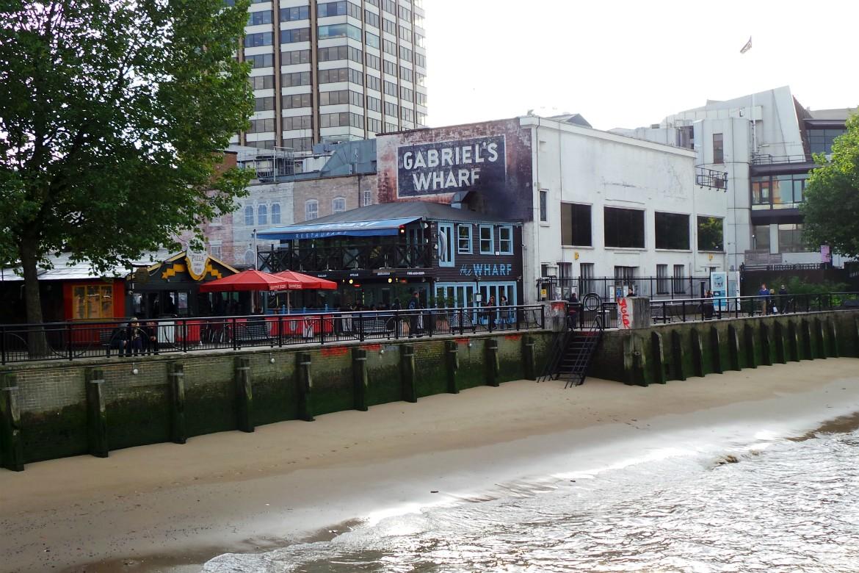 Gabriel Wharf London Restaurants
