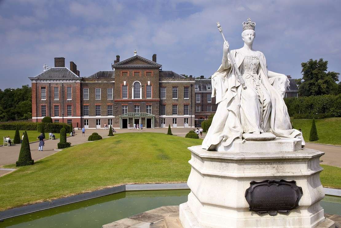 Kensington Palace from outside
