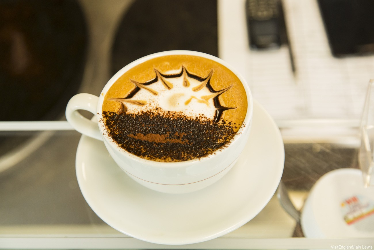 أفضل الأماكن لاحتساء القهوة في لندن