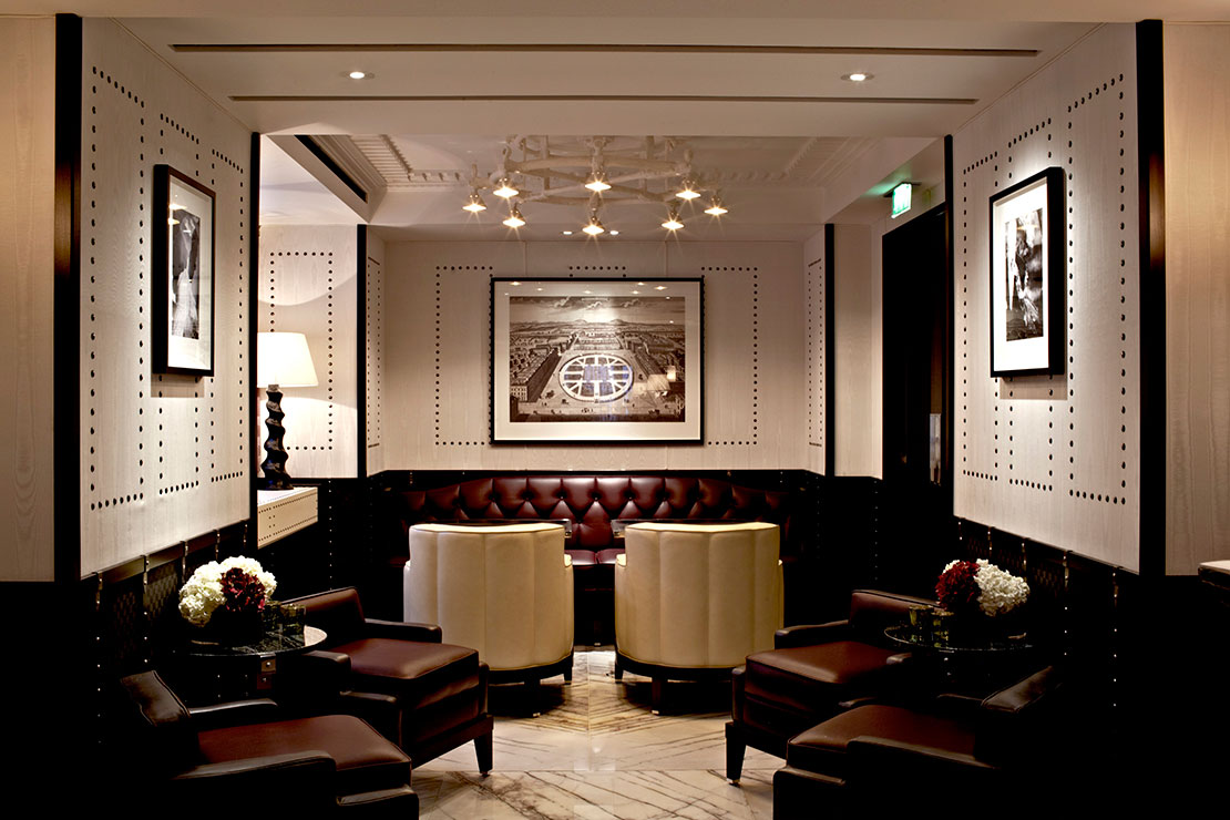 The Luggage Room bar at London Marriott Grosvenor Square