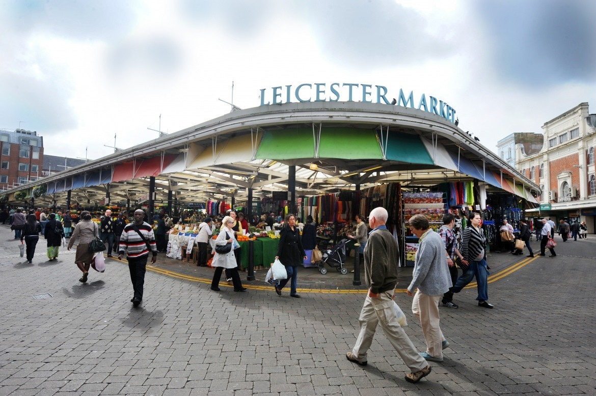 Leicester covered market