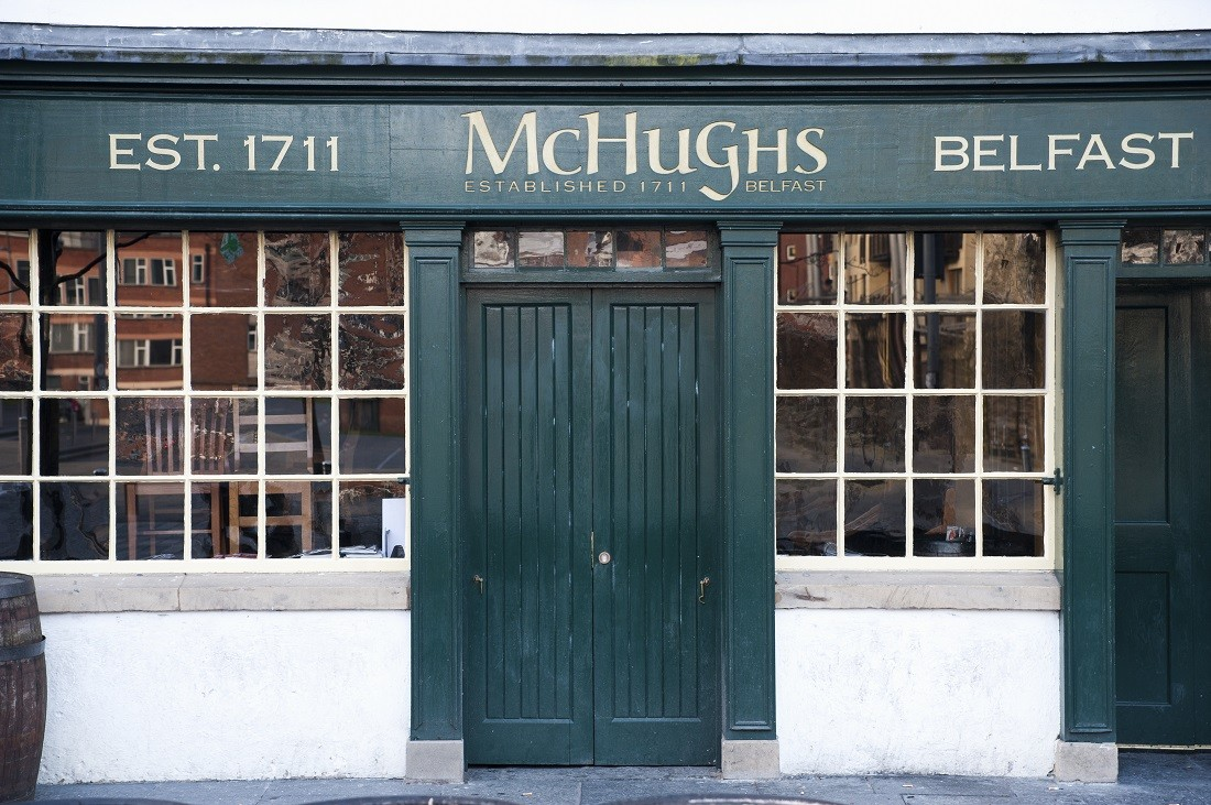 McHugh's Pub, Belfast, Northern Ireland. Image credited to VisitBritain and Britain on View