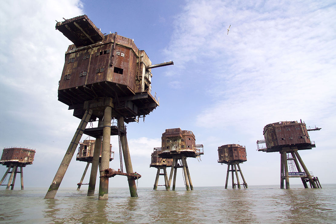 Redsands Maunsell Forts, Kent