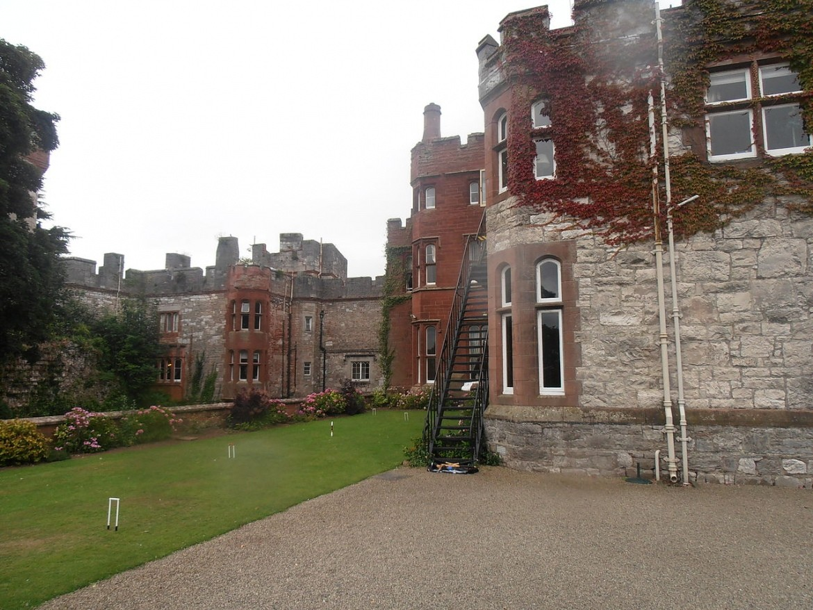 Ruthin Castle, Wales