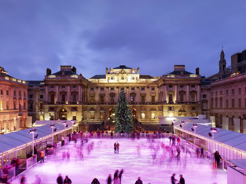 Somerset House ice rink London