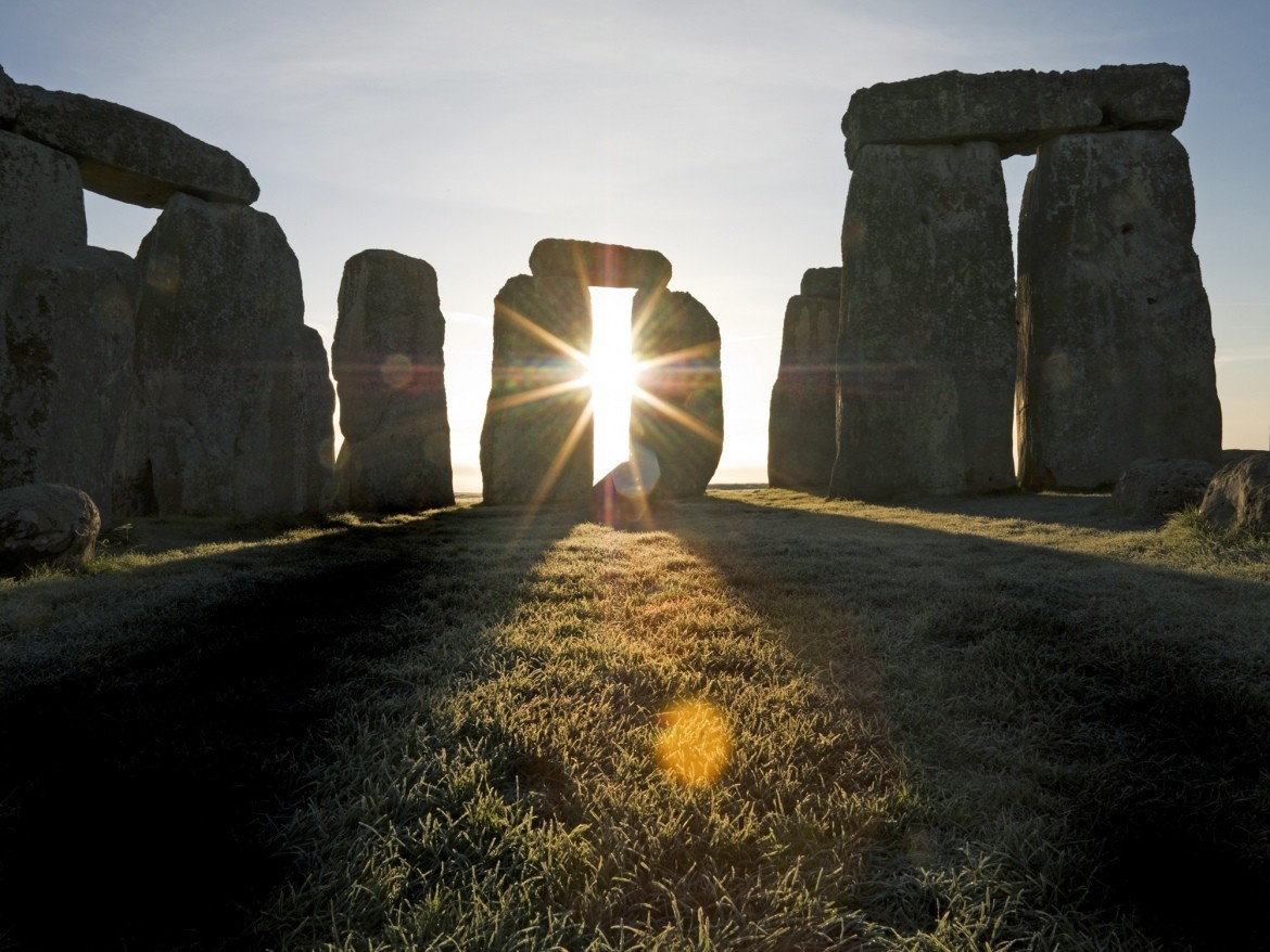 Experience the summer solstice at Stonehenge, a historic stone circle in Britain