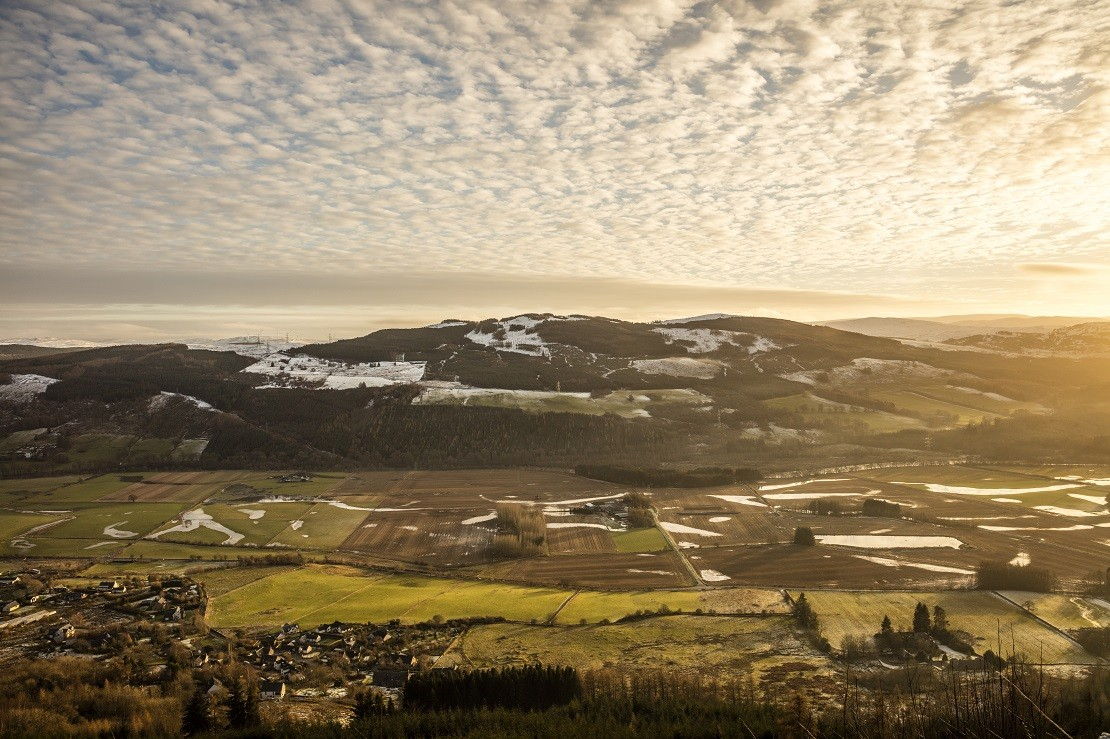 View over the highlands landscape in Scotland, image credited to AndrewPickettPhoto.com