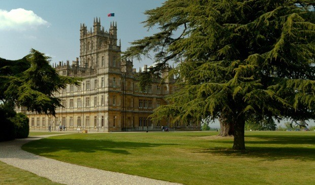 How to lord it inside the home of Downton Abbey