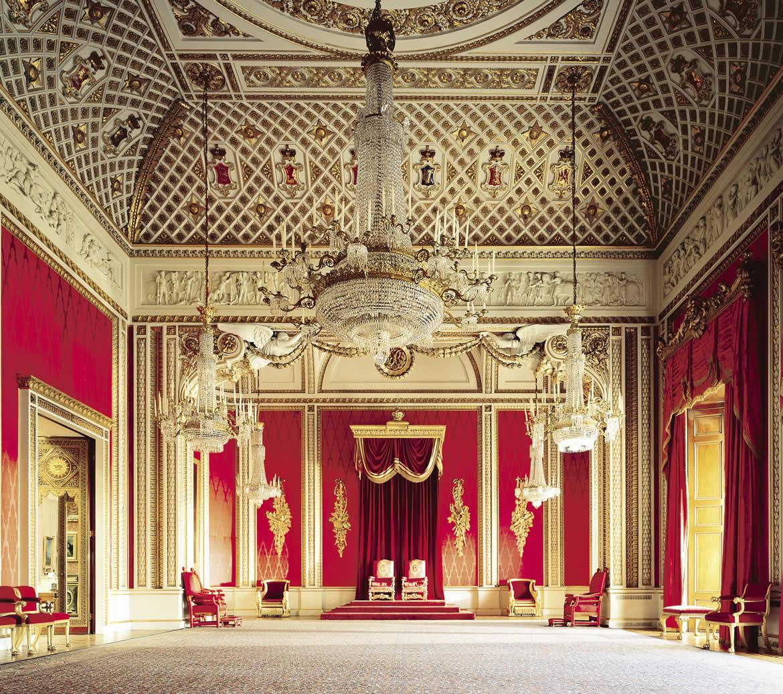 Carte Resident Angleterre.La Grande Bretagne Royale Les Residences De La Reine