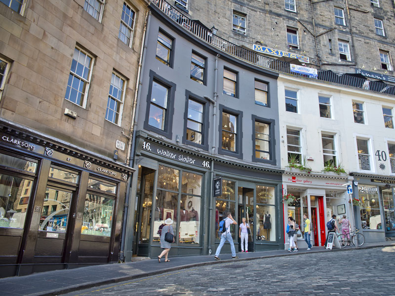 Shopping In Edinburgh Visitbritain