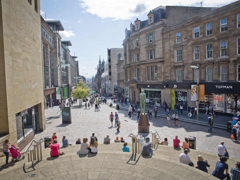 Top Glasgow Shopping Visitbritain