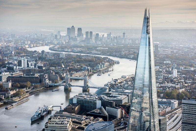 Best Sky Views and Best Restaurants is London