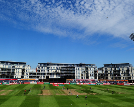 The Bristol County Cricket Ground, one of the venues for the 2019 Cricket World Cup.