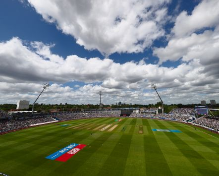 Edgbaston Cricket Ground in Birmingham