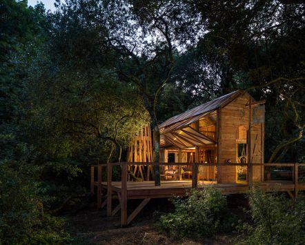 Danish cabin eco lodge in the English countryside