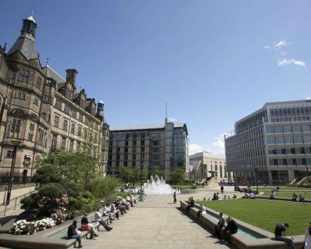 Sheffield's Peace Gardens