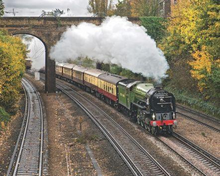 Train à vapeur Belmond British Pullman