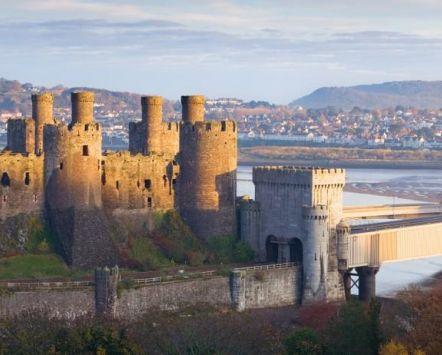 Castelo de Conwy, País de Gales