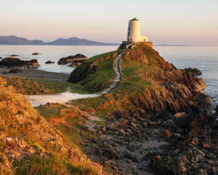 Ilha de Llanddwyn, País de Gales