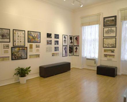 Black History Month 2020 exhibition in London's Zari Gallery. Credit to Zari Gallery