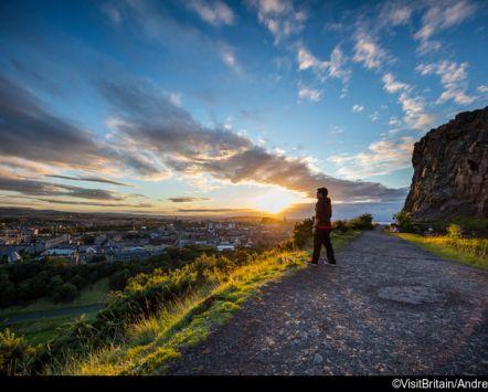 Foto di Salisbury all'alba