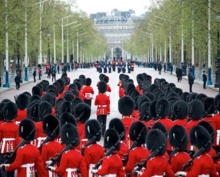 Royal Guard Parade at Buckingham Palace