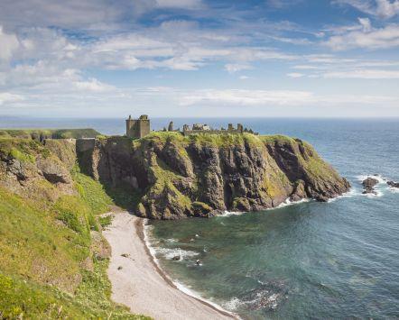 Dunnottar Castle. Credit: VisitScotland/Kenny Lam.