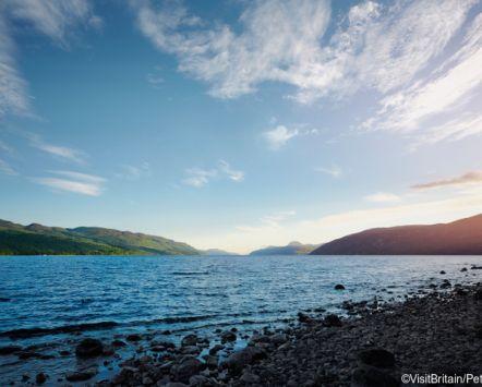 View accross Loch Ness, Inverness, Scotland. VisitBritain/Peter Beavis