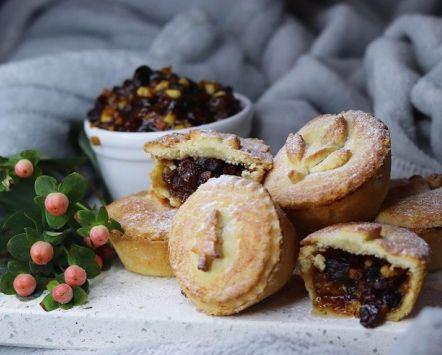 Les mince pies, une spécialité de Noël en Grande-Bretagne.