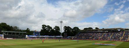 Sophia Gardens Cricket Ground in Cardiff