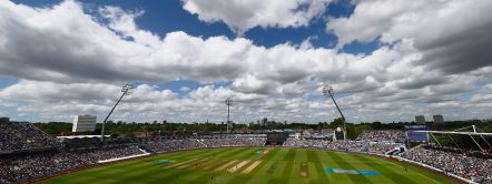 Edgbaston Cricket Ground in Birmingham