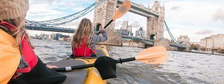 Kayaking, River Thames, London