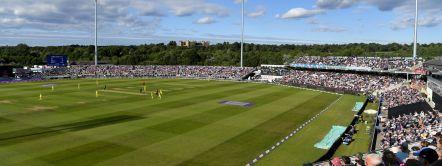 Emirates Riverside Cricket Ground in County Durham