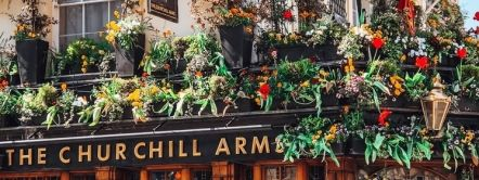 Churchill Arms, London