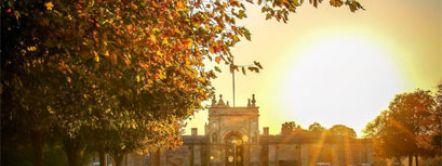 Blenheim Palace Garden Autumn