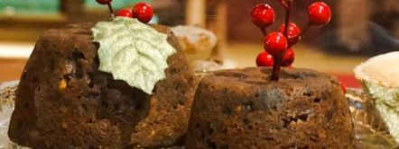 Traditionele Britse Christmas Pudding