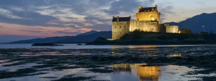Eilean Donan Kintail National scenic area