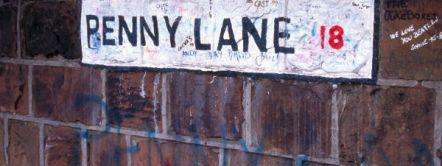 Penny Lane road sign © VisitBritain