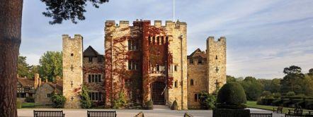 Hever Castle im Herbst