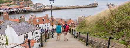 Whitby Steps, Whitby, North Yorkshire, England