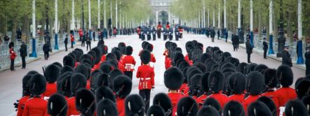 Royal Guard Parade at Buckingham Palace
