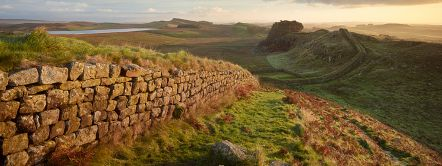 One of Britain's Archaeological highlights, Hadiran's Wall in Northumberland Credit to VisitBritain/ Joe Cornish