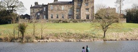 Ripley Castle in Yorkshire, Nordengland